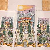 Картины и панно ручной работы. Ярмарка Мастеров - ручная работа Tuscan Gardens 1,2,3. Handmade.