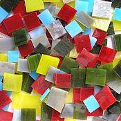 Материалы для творчества handmade. Livemaster - original item Mosaic: multicolored glass mix 200 g. Handmade.