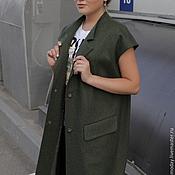Одежда handmade. Livemaster - original item Vest long. Vest AMODAY.. Handmade.