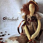 Куклы и игрушки ручной работы. Ярмарка Мастеров - ручная работа Кофейная фея Агата и ее улитка. Handmade.