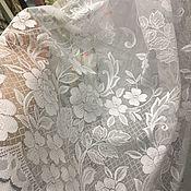 Для дома и интерьера handmade. Livemaster - original item Curtain knitted fabric