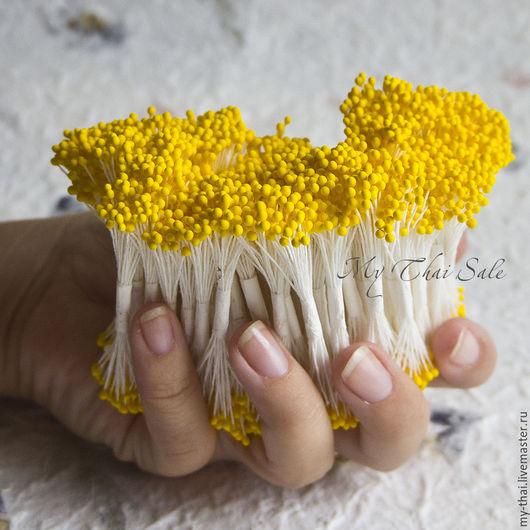 Недорогие тычинки от тайского производителя для глины, фоамирана, холодного фарфора полимерной глины для лепки цветов