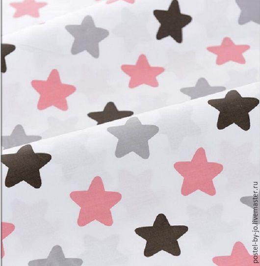 Шитье ручной работы. Ярмарка Мастеров - ручная работа. Купить Хлопок  100% Звезды на белом ( Китай). Handmade. Комбинированный