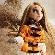 Куклы и игрушки ручной работы. Ярмарка Мастеров - ручная работа Девочка Лиза.. Handmade.