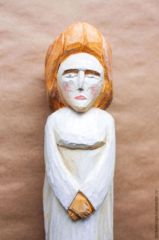 """Статуэтки ручной работы. Ярмарка Мастеров - ручная работа. Купить Статуэтка """"Ангел"""". Handmade. Комбинированный, ангел, ангел-хранитель, статуэтка"""