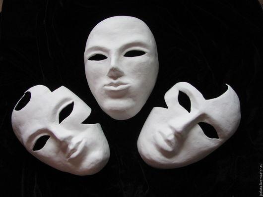 Интерьерные  маски ручной работы. Ярмарка Мастеров - ручная работа. Купить Заготовки интерьерной маски. Handmade. Белый, маска