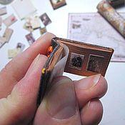 Мини фигурки и статуэтки ручной работы. Ярмарка Мастеров - ручная работа Мини-фотоальбом, мини-фоторамка  (НА ЗАКАЗ). Handmade.