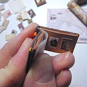 Куклы и игрушки handmade. Livemaster - original item Mini photo album, mini photo frame (CUSTOM made). Handmade.
