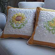 Для дома и интерьера handmade. Livemaster - original item Sofa decorative pillows
