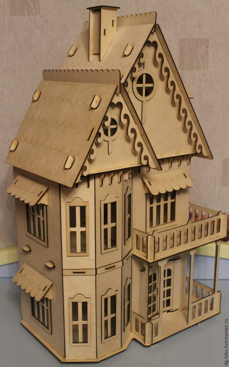 Dollhouse puzzle, Doll houses, Moscow,  Фото №1
