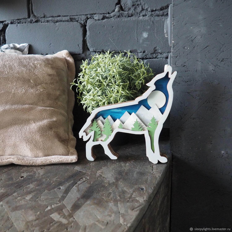 Набор для творчества Волк. 3d картина своими руками – купить на Ярмарке Мастеров – JI7Q4RU | Наборы для творчества, Ульяновск