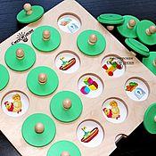 Куклы и игрушки ручной работы. Ярмарка Мастеров - ручная работа Игра Мемори. Handmade.