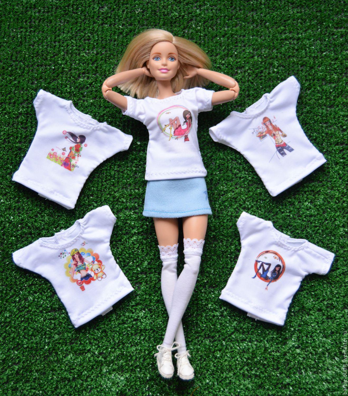 Как сделать принт на футболке куклы