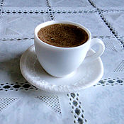Косметика ручной работы. Ярмарка Мастеров - ручная работа Чашечка кофе - мыло. Handmade.