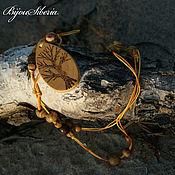 """Украшения handmade. Livemaster - original item Бусы с кулоном из дерева """"Древо жизни"""". Handmade."""