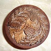Для дома и интерьера handmade. Livemaster - original item The box of wood Knobble the Art of carving. Handmade.