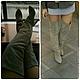 Обувь ручной работы. сапоги замшевые. Galogre Oksana. handmade shoes. Ярмарка Мастеров. Сапоги из кожи, замша натуральная