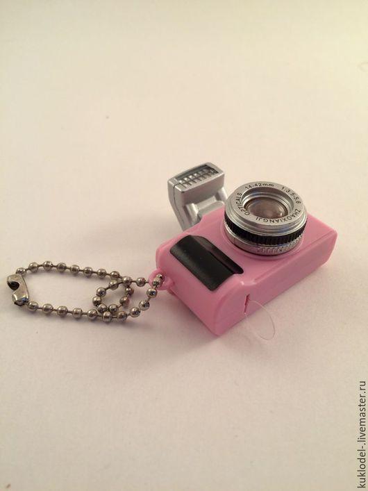 Куклы и игрушки ручной работы. Ярмарка Мастеров - ручная работа. Купить Фотоаппараты для кукол. Handmade. Черный, розовый, аксессуары для кукол