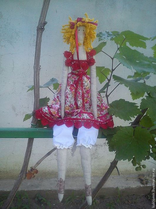 """Куклы Тильды ручной работы. Ярмарка Мастеров - ручная работа. Купить Кукла """"Тильда"""" ручной работы. Handmade. Тильда кукла"""