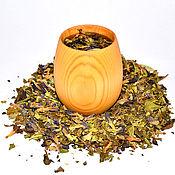 Посуда ручной работы. Ярмарка Мастеров - ручная работа Стакан кружка деревянная для чая кваса морсов из натурального кедра K3. Handmade.