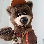 """Куклы и игрушки ручной работы. Ярмарка Мастеров - ручная работа Медведь """"Броуни"""". Handmade."""