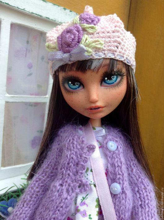 Коллекционные куклы ручной работы. Ярмарка Мастеров - ручная работа. Купить кукла Лили. Handmade. Ооак, сиреневый, текстиль