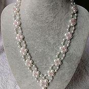 handmade. Livemaster - original item Necklace Pearl tenderness. Handmade.