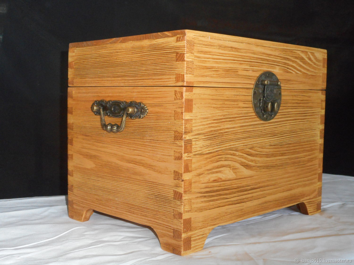 Box with wooden lid, Crates, Lyubertsy,  Фото №1