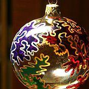 """Подарки к праздникам ручной работы. Ярмарка Мастеров - ручная работа Шар """"Четыре цвета"""". Handmade."""