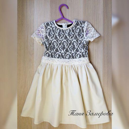 """Одежда для девочек, ручной работы. Ярмарка Мастеров - ручная работа. Купить Платье """"кружева"""". Handmade. Дети, платья, платья для девочек"""