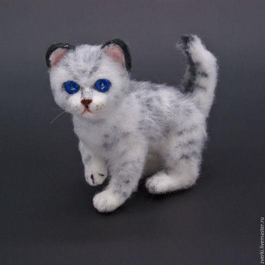 Игрушки животные, ручной работы. Ярмарка Мастеров - ручная работа. Купить котенок. Handmade. Котенок, подарок