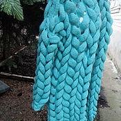 Одежда ручной работы. Ярмарка Мастеров - ручная работа Кардиган Азиатский колосок Мятный. Handmade.