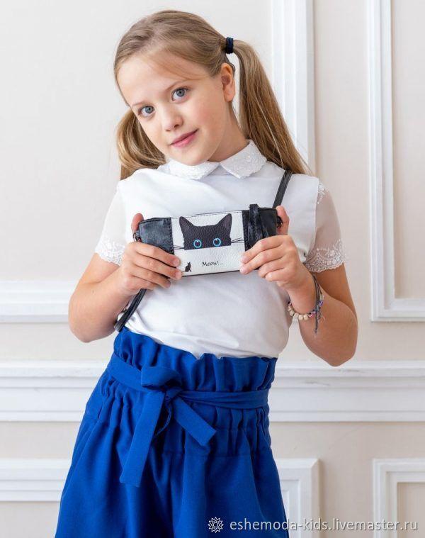 Детская мини сумочка Meow, цвет черный, Сумки, Москва, Фото №1