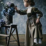 Платья ручной работы. Ярмарка Мастеров - ручная работа «XX век начинается» детское выходное платье. Handmade.