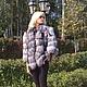 Верхняя одежда ручной работы. Ярмарка Мастеров - ручная работа. Купить Куртка из финской чернобурки. Handmade. Куртка из чернобурки
