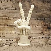 Статуэтки ручной работы. Ярмарка Мастеров - ручная работа Механическая рука. Handmade.