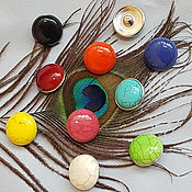 Материалы для творчества handmade. Livemaster - original item Button 18 mm for fashion jewelry. Handmade.