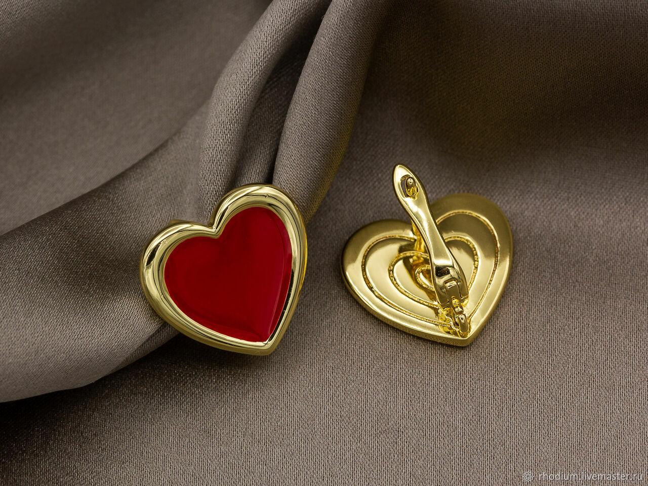 Швензы Сердце с эмалью (CG-41 947), Швензы, Москва,  Фото №1