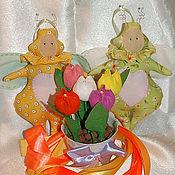 Куклы и игрушки ручной работы. Ярмарка Мастеров - ручная работа Весенние Жужики. Handmade.