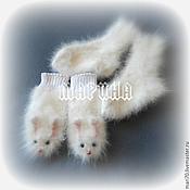 Работы для детей, ручной работы. Ярмарка Мастеров - ручная работа КОМПЛЕКТ варежки носочки. Handmade.