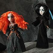 Куклы и игрушки ручной работы. Ярмарка Мастеров - ручная работа Ведьма и инквизитор. Handmade.