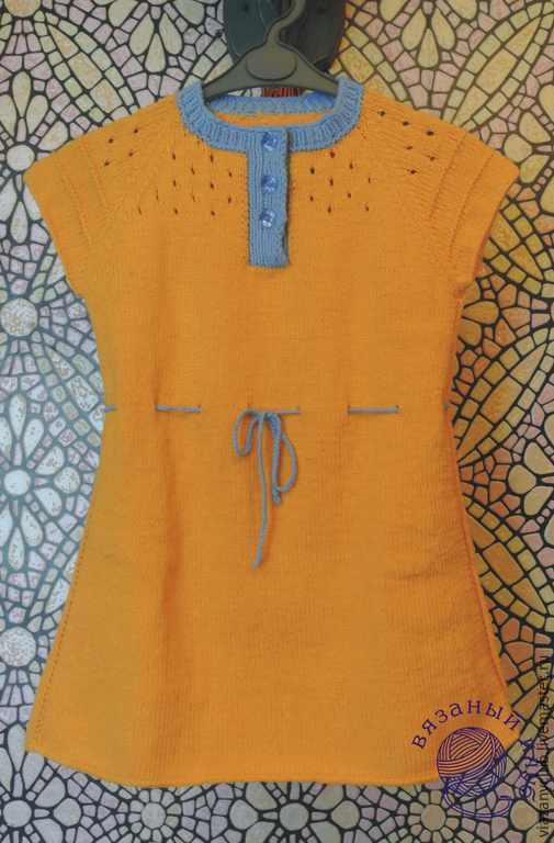 Одежда для девочек, ручной работы. Ярмарка Мастеров - ручная работа. Купить Маленькое желтое платье. Handmade. Желтый, платье для девочки