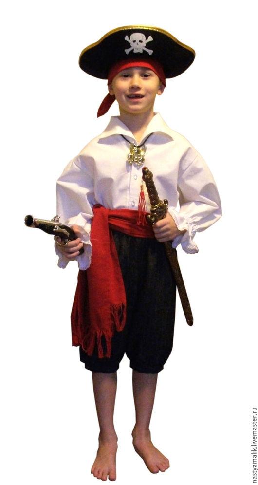 Карнавальные костюмы ручной работы. Ярмарка Мастеров - ручная работа. Купить Костюм пирата. Handmade. Комбинированный, хлопок