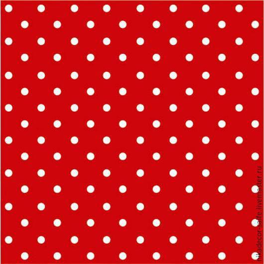 Декупаж и роспись ручной работы. Ярмарка Мастеров - ручная работа. Купить Горох красный (SDL066023) 33х33 салфетка для декупажа. Handmade.