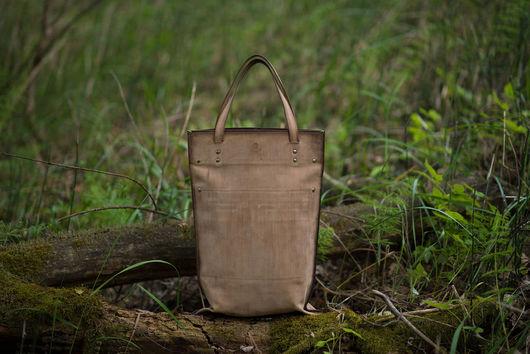 Женские сумки ручной работы. Ярмарка Мастеров - ручная работа. Купить Высокий пакет. Handmade. Сумка ручной работы