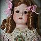 Коллекционные куклы ручной работы. Ярмарка Мастеров - ручная работа. Купить Продается восхитительная девочка Хойбах. Handmade. Бежевый, бисквит