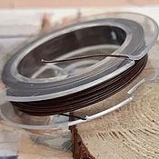 Материалы для творчества handmade. Livemaster - original item 10 m Rope jewelry 0,45 mm copper (1958-M). Handmade.