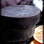 Косметика ручной работы. Ярмарка Мастеров - ручная работа Натуральное мыло ГЛИНТВЕЙН, на свежевыжатом соке клюквы. Handmade.
