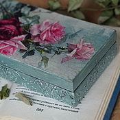 Для дома и интерьера handmade. Livemaster - original item Cash Box Wine list. Handmade.