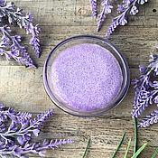 Косметика ручной работы handmade. Livemaster - original item Body scrub sugar Lavender. Handmade.